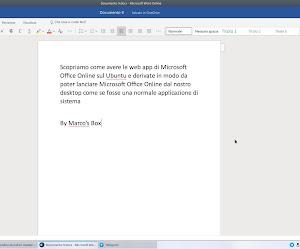 Come avere Microsoft Office Suite Online nativo su Ubuntu e derivate grazie a JAK
