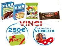 Logo Vinci a Carnevale : 145 buoni spesa e soggiorno a Venezia con Novi, Dufou,...)