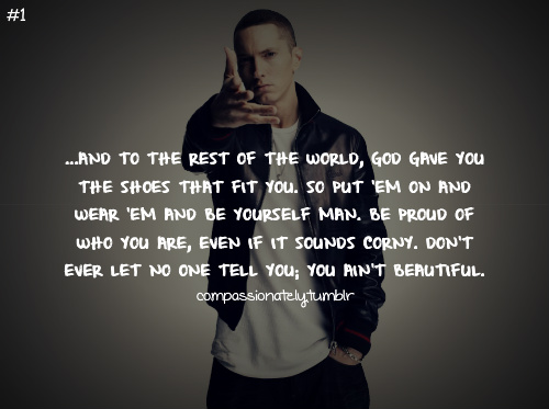 eminem quotes from songs beautiful - photo #5