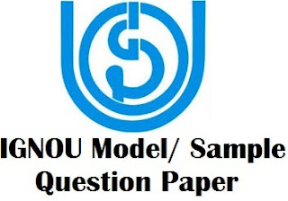 IGNOU Solved Question Papers Download