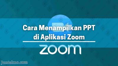 cara menampilkan ppt di aplikasi zoom