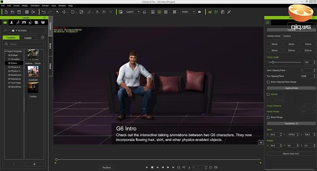 تنزيل برنامج iClone Pro 7 برابط مباشر للكمبيوتر