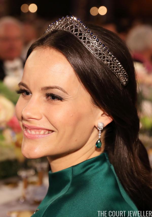Nobel banquet 2016 princess sofia of sweden the court - Princesse sofya ...