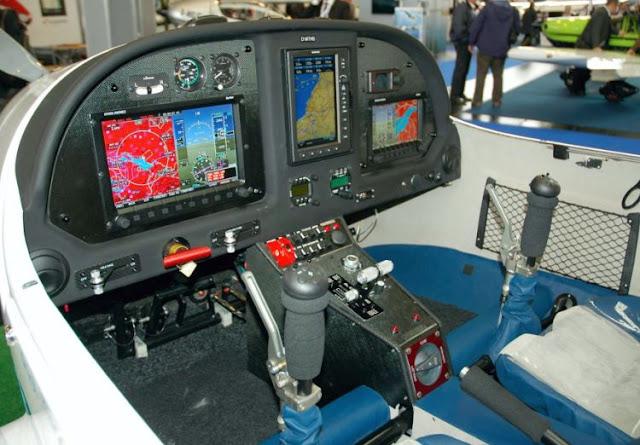ATEC 322 Faeta cockpit