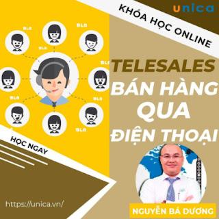 Khóa học SALE BÁN HÀNG- Telesales - Bán hàng qua điện thoại UNICA.VN ebook PDF EPUB AWZ3 PRC MOBI