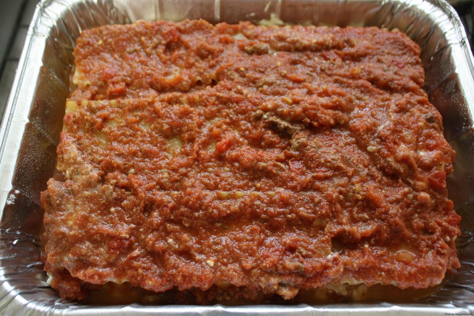 food adventures of a comfort cook: lasagna 101 and no cook