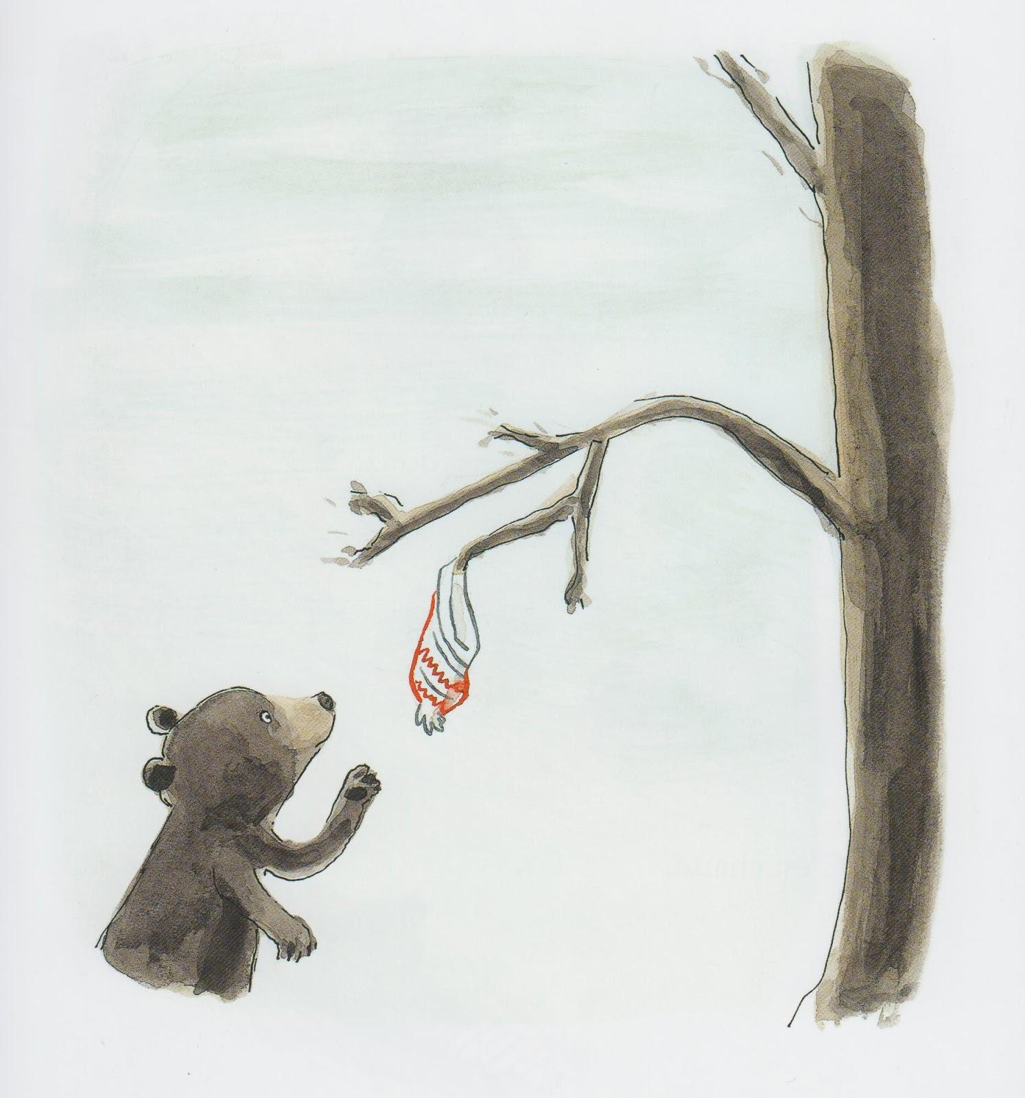 La découverte de l'ourson. (c) Pastel.