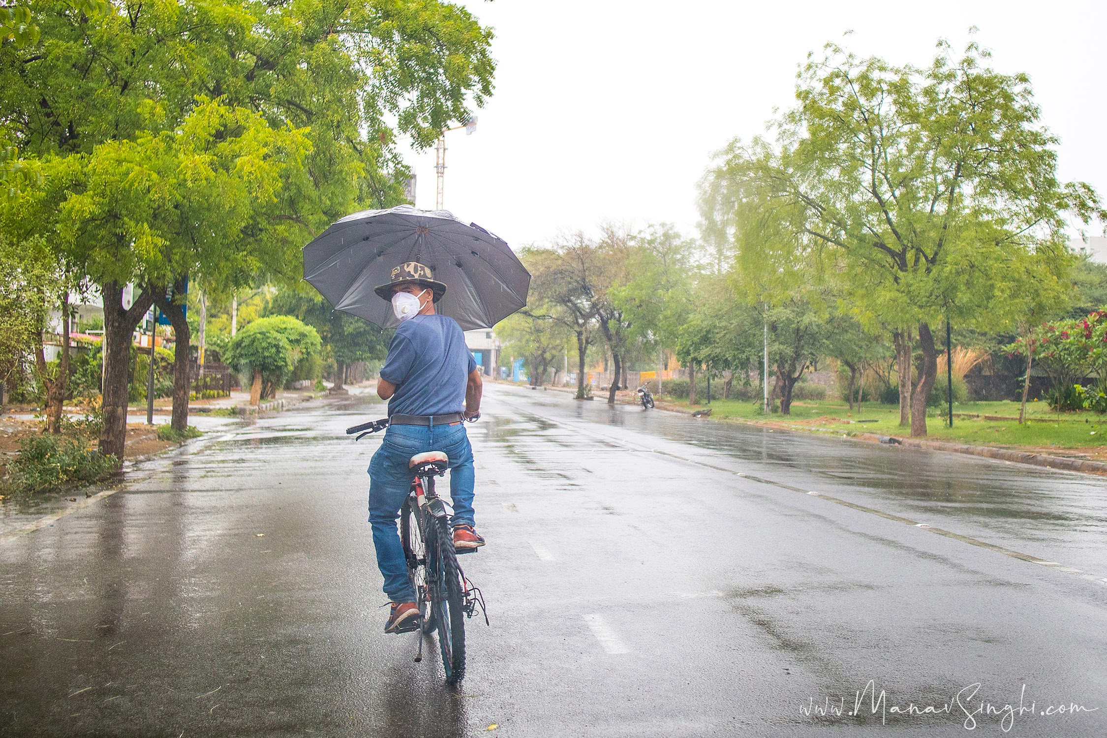 Rains in Jaipur due to Weather Disturbance created by Tauktae Cyclonic Storm.