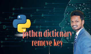 python remove key from dictionary