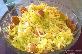 patta gobhi sabzi, soya bean