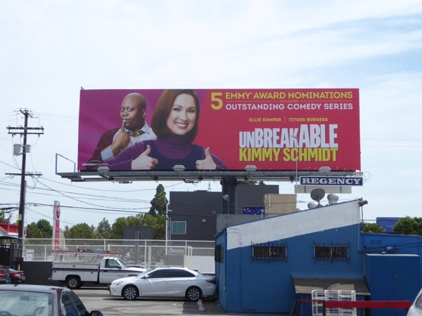 Kimmy Schmidt 2017 Emmy nominations billboard