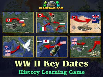 Ключови Дати от Втората Световна Война