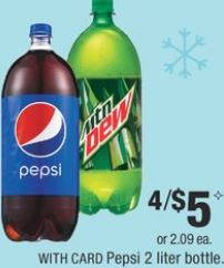 Pepsi 2 Liter Bottles