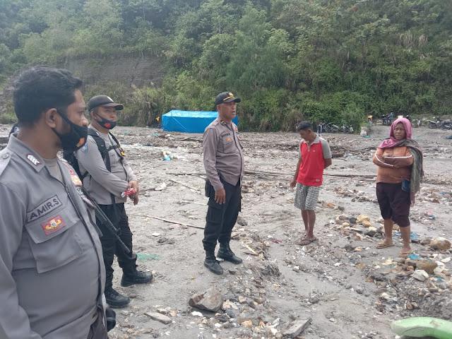 Polsek Waeapo Sisir Aktifitas Tambang Emas Ilegal di Sungai Anahoni dan Gunung Botak.lelemuku.com.jpg