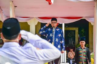 Gubernur NTB Pimpin Upacara Hari Bakti Pekerjaan Umum