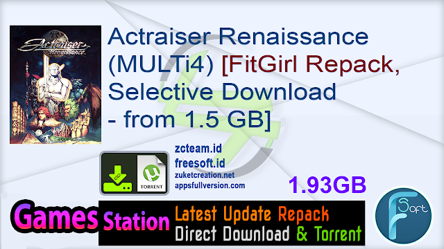Actraiser Renaissance (MULTi4) [FitGirl Repack, Selective Download – from 1.5 GB]