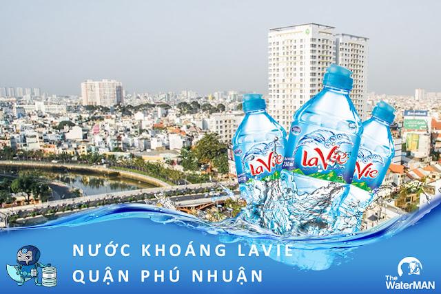 Đại lý đặt nước khoáng Lavie, Viva bình 20L, thùng đóng chai tại quận Phú Nhuận