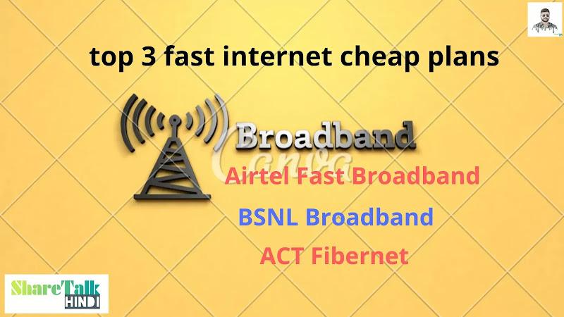 Best fibre internet plans