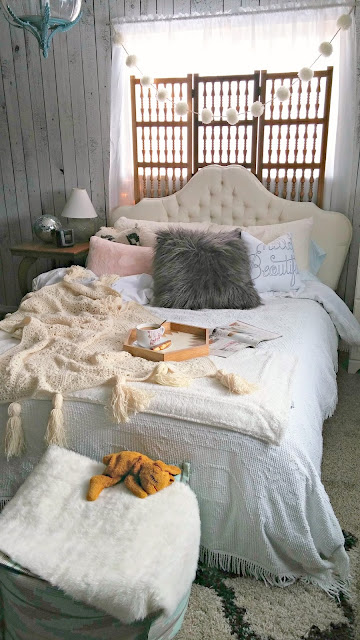 Sundays Are For Staying In Creating A Cozy Bed Little Vintage Cottage