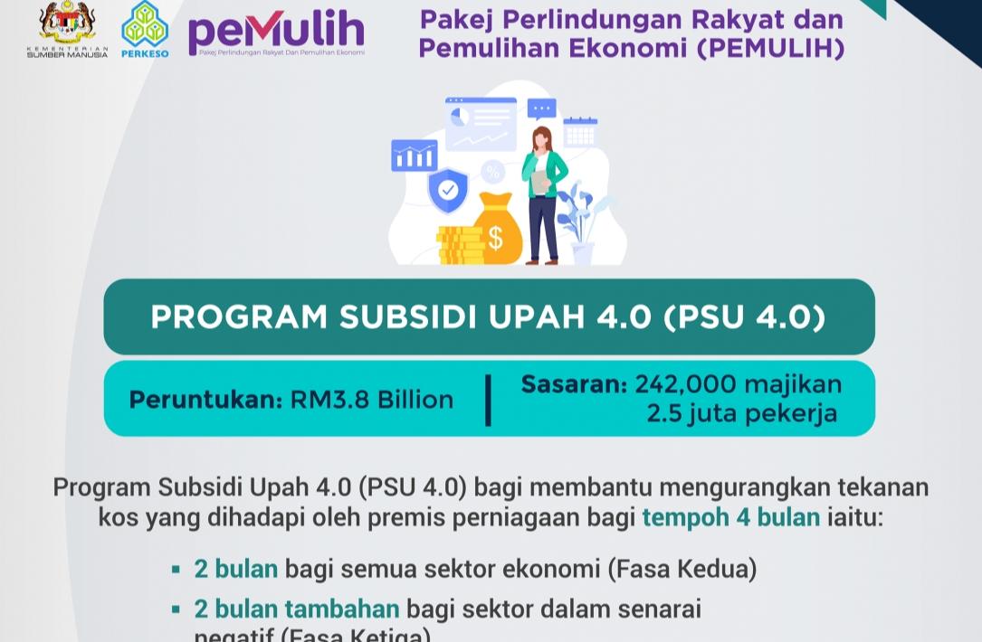 Permohonan PSU 4.0 2021 Online (Cara Kemaskini)