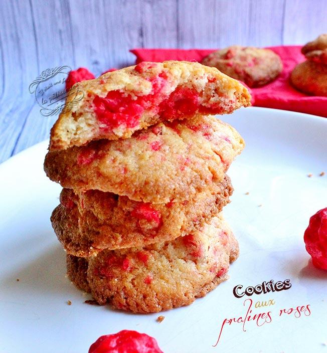Cookies-pralines-roses