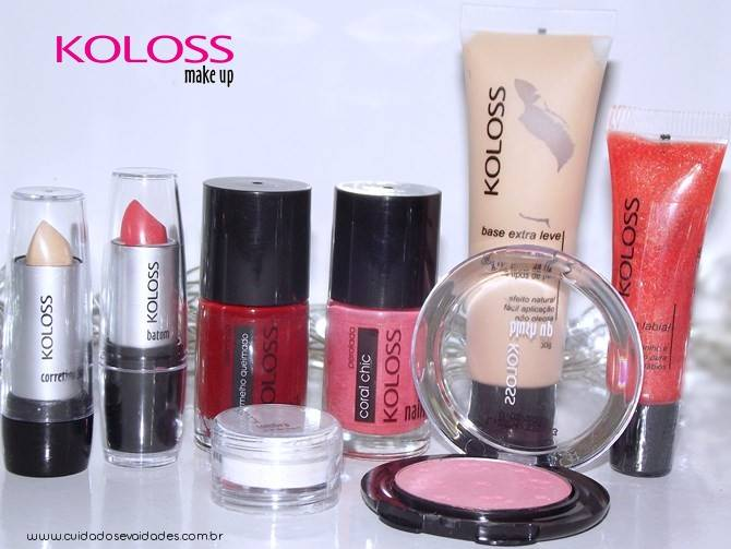 Resenha maquiagens Koloss