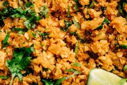 Keto Dinner | Mexican Cauliflower Rice Skillet Dinner