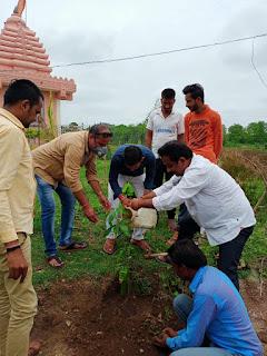 श्यामाप्रसाद मुखर्जी के बलिदान दिवस पर मण्डल पदाधिकारियों द्वारा श्रधांजलि दी गई