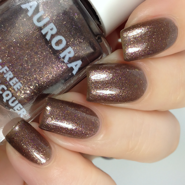 Aurora Nail Lacquer-A Nice, Greasy Pork Sandwich Served in a Dirty Ashtray