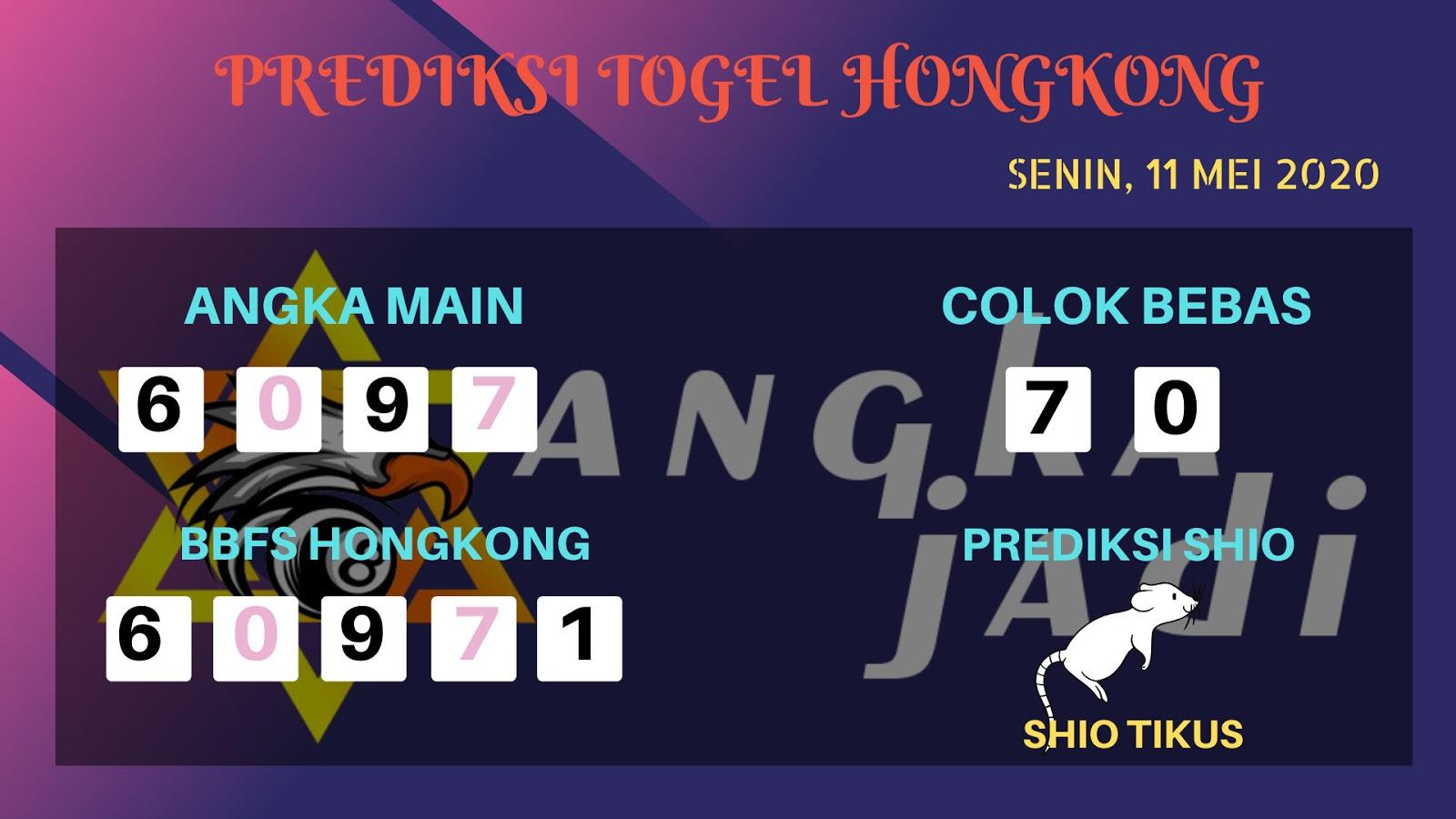 Prediksi Togel Hongkong Senin 11 Mei 2020 - Prediksi Angka Hongkong