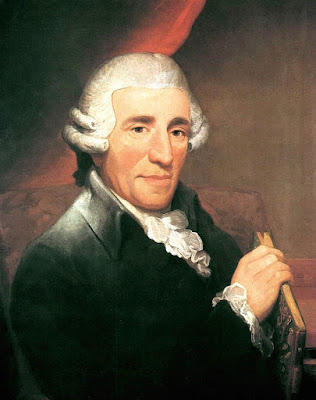 Portrait of Joseph Haydn by Thomas Hardy (1791)