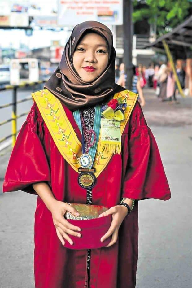 Paramisuli Aming took the Social Worker Board Exam just two weeks after she graduated cum laude