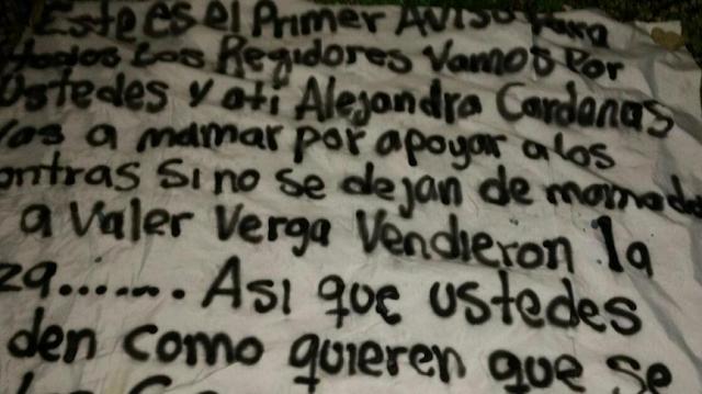 Vamos por ustedes y a ti Alejandra Cárdenas, vas a mamar por apoyar a los contras. Si no se dejan de mamadas van a valer v… Vendieron la plaza