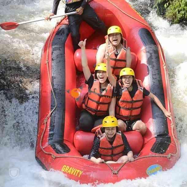 gambar arung jeram sungai palayangan