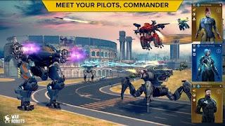 War Robots v6.2.2 MOD APK VIP Infinite Missile & Money