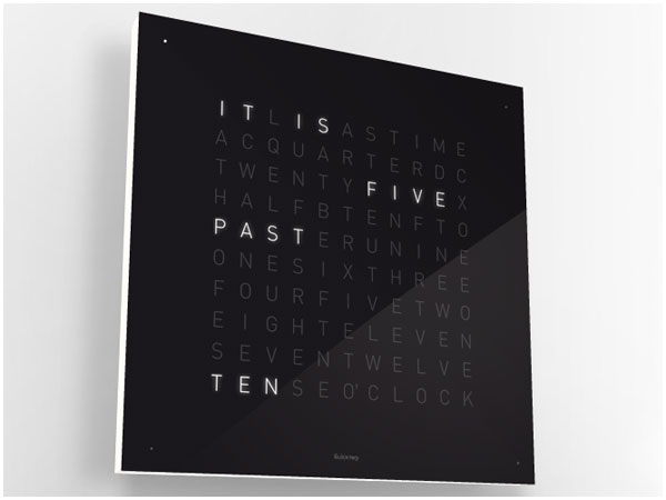 Cool Stuff: QLOCKTWO Wall Clock | Times New Geek