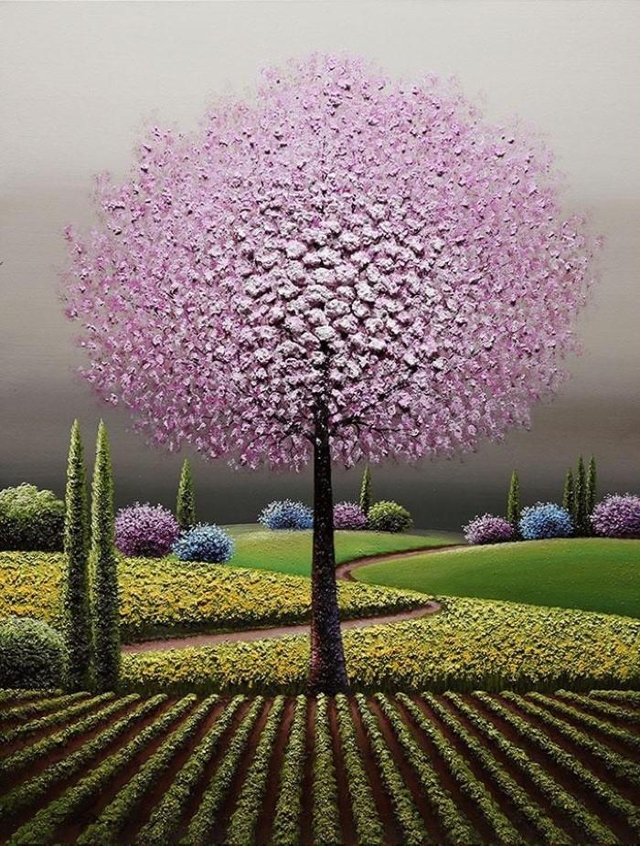 Корейский художник. Myung Mario Jung