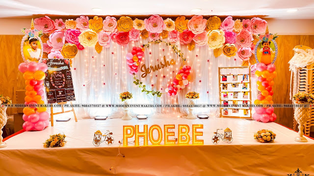 Flower_Theme_Party_Decor_For_First_Birthday_PH_9884378857_Modern_Event_Maker.com