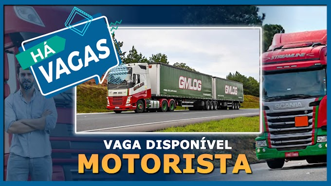 Transportadora GM Log abre vagas para motorista carreteiro