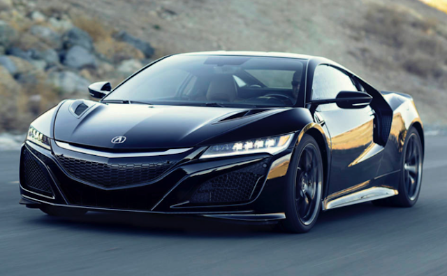 2017 Acura NSX Car and Driver Review