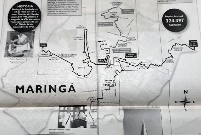 Infográfico Maringá 61 Anos – O Diário. Café com Jornalista