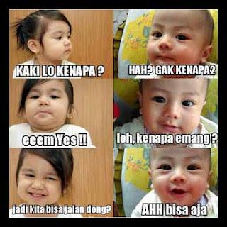 63 Meme Bayi Lucu Yang Bisa Membuat Kita Tertawa Bila