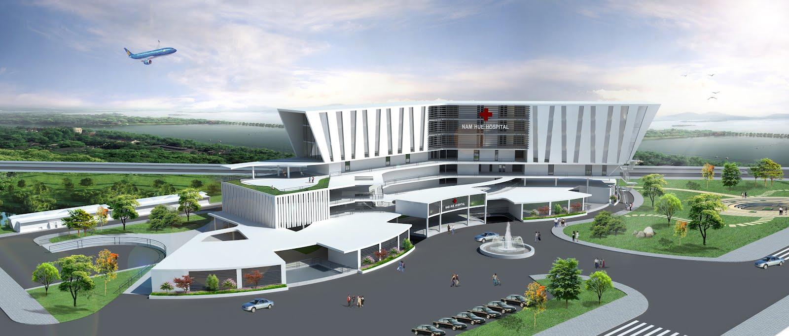 Đồ Án Bệnh Viện Đa Khoa 300 Giường - Nam Hue Hospital (9Đ Lưu)