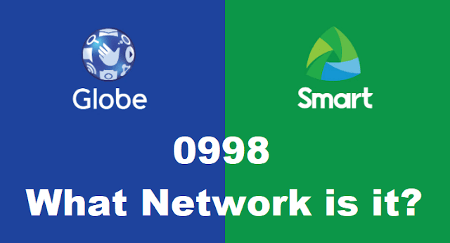 0998 What Network is it? Smart or Globe?