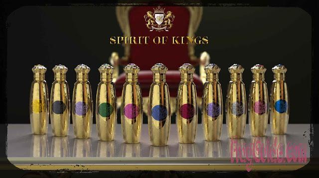 عطور النيش تكسب عضوا جديدا   مجموعة SPIRIT OF KINGS