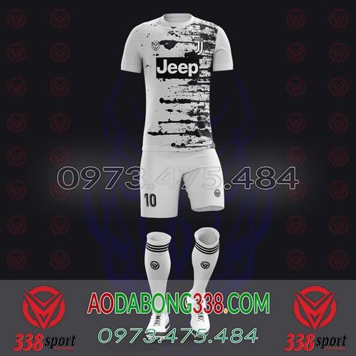 May Áo Đá Bóng Theo Yêu Cầu Mã Juventus-04