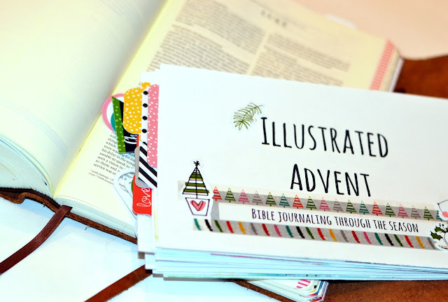 color in your Bible, faith, advent, dayspring, hand lettering