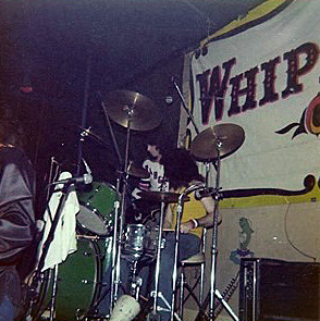 Whiplash on stage 1977
