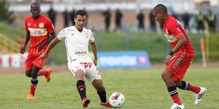 Sport Huancayo vs Universitario de Deportes
