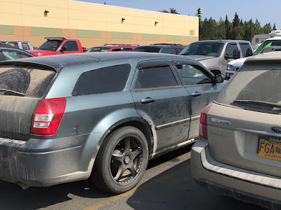 Alaska – Land of the Dirty Cars and Cracked Windshields